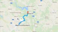 Silnice: Bystřice nad Pernštejnem – Hrdá ves cca 7 km Nejhezčí úsek je toto, ale dá se pokračovat prakticky libovolně dále – však se mrkněte na mapu 😉  mapa: